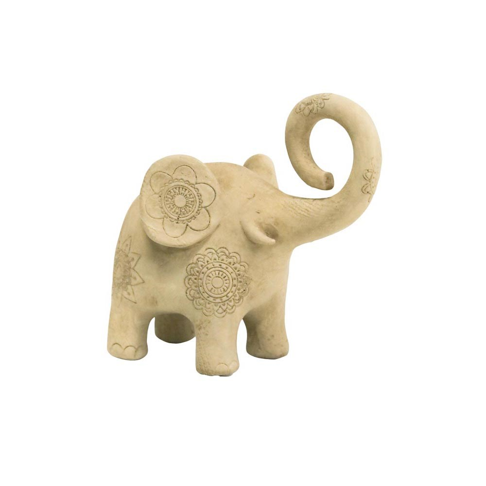 Stoneleigh & Roberson Elephant Patterned Statue