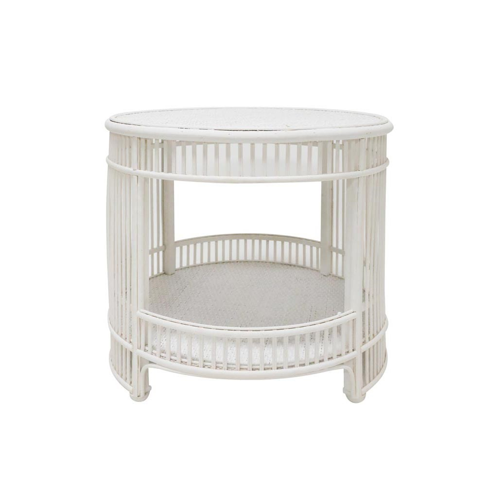 Stoneleigh & Roberson Hastings Rattan Side Table