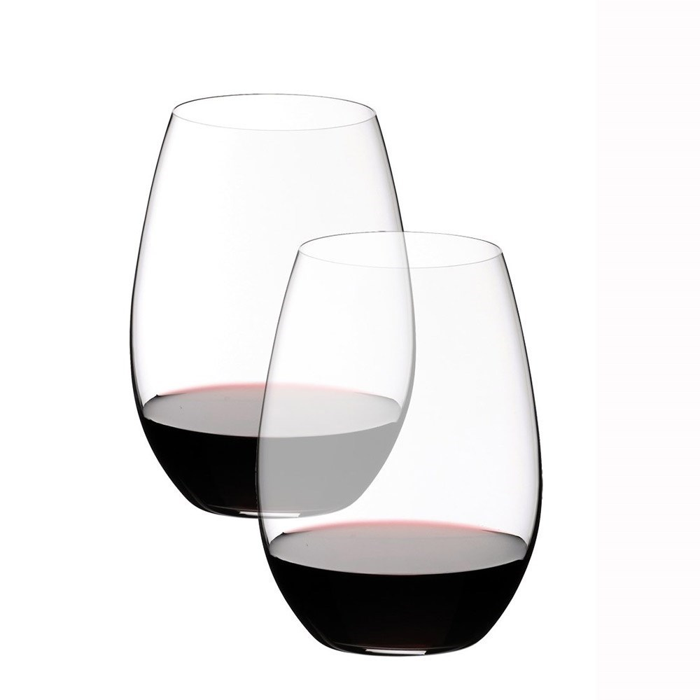 Riedel O 2 Piece Crystal Syrah/Shiraz Wine Glass Set 620ml