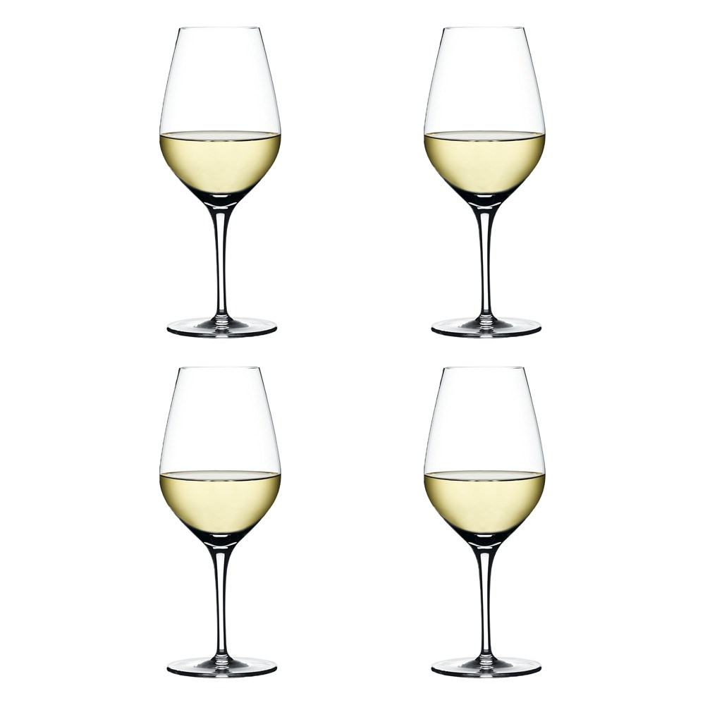 Spiegelau Authentis 4 Piece Crystal White Wine Glass Set 480ml