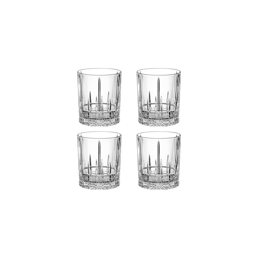 Spiegelau Perfect Serve Double Old Fashioned Glass Set of 4