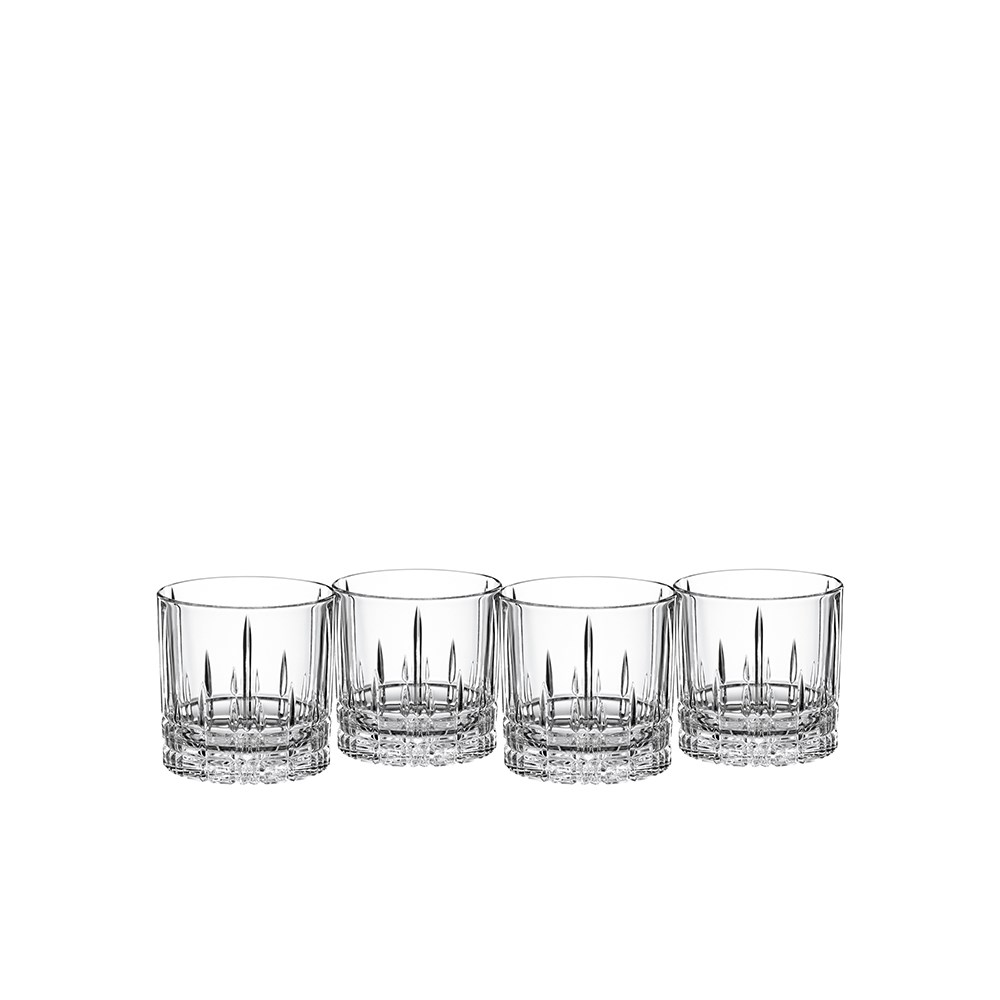Spiegelau Perfect Serve Single Old Fashioned Glass Set of 4