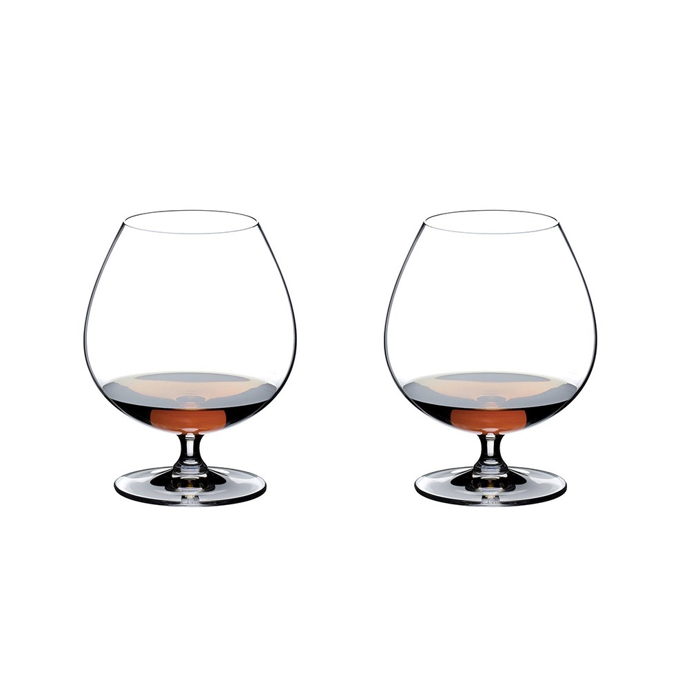 Riedel Vinum 2 Piece Crystal Brandy Glass Set 840ml