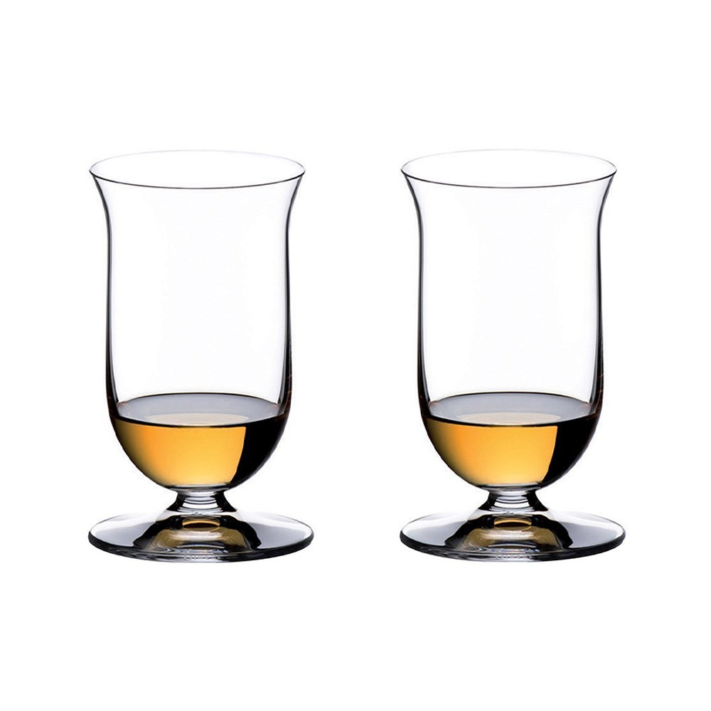 Riedel Vinum 2 Piece Crystal Single Malt Whisky Glass Set 200ml