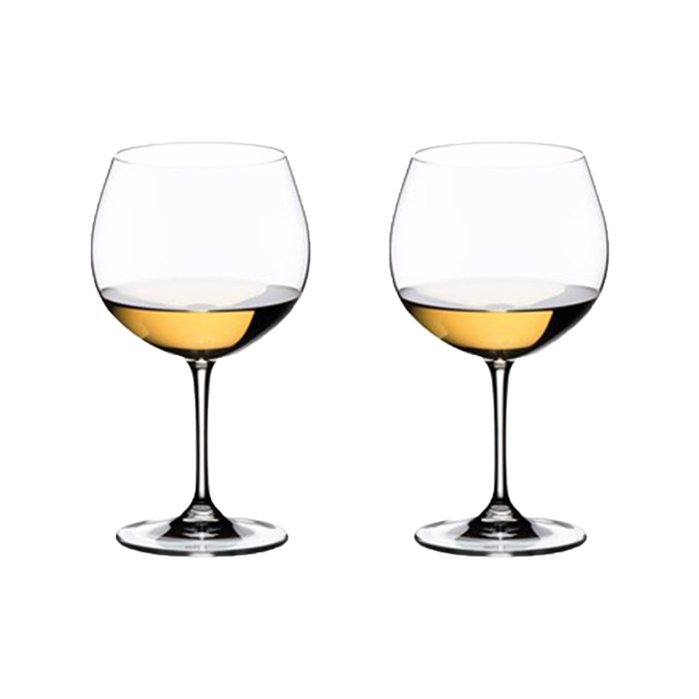 Riedel Vinum 2 Piece Crystal Oaked Chardonnay Wine Glass Set 600ml