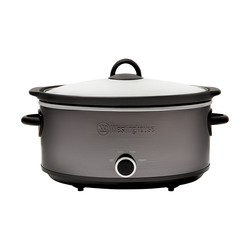 Westinghouse 6.5L Slow Cooker Black