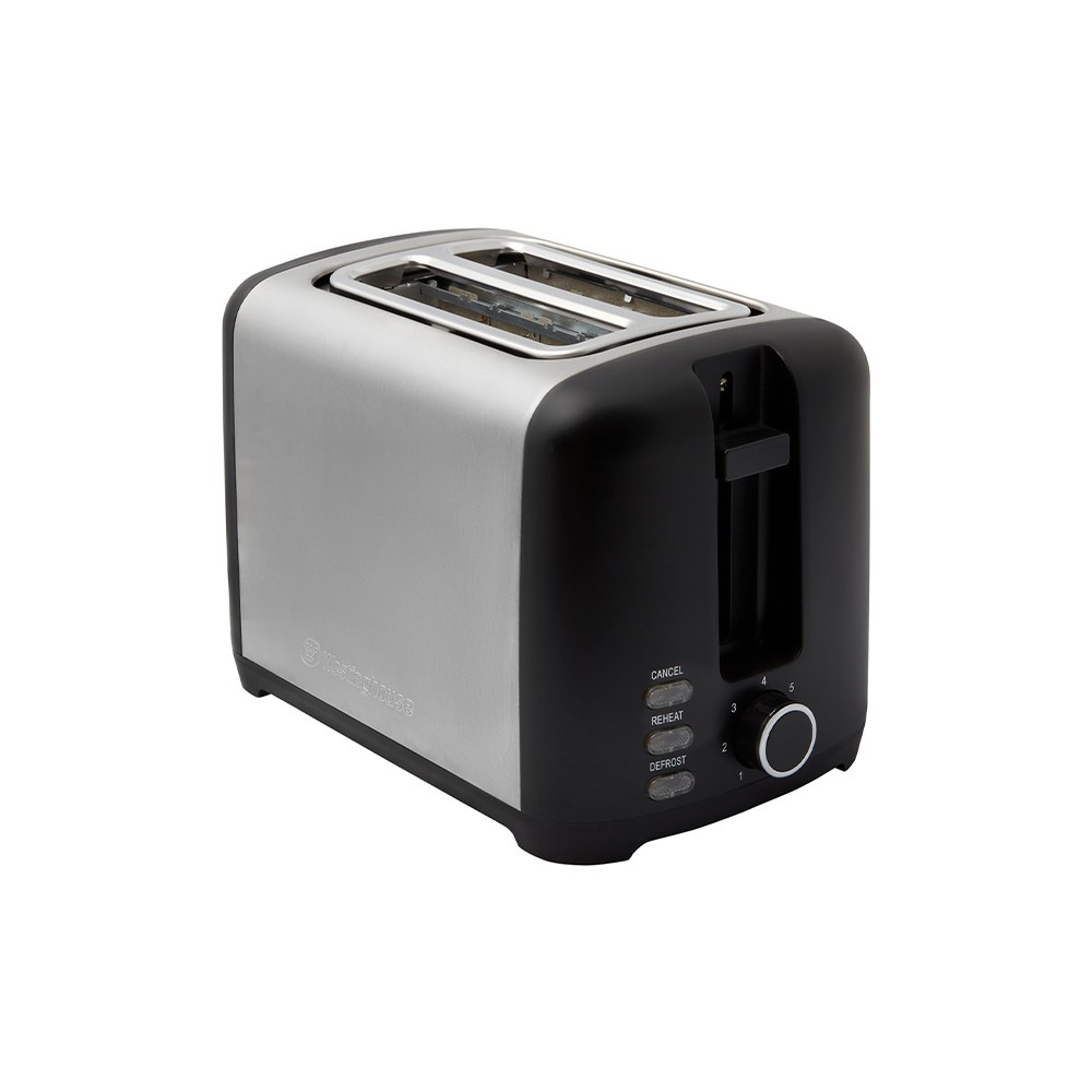 Westinghouse Stainless Steel 2 Slice Toaster