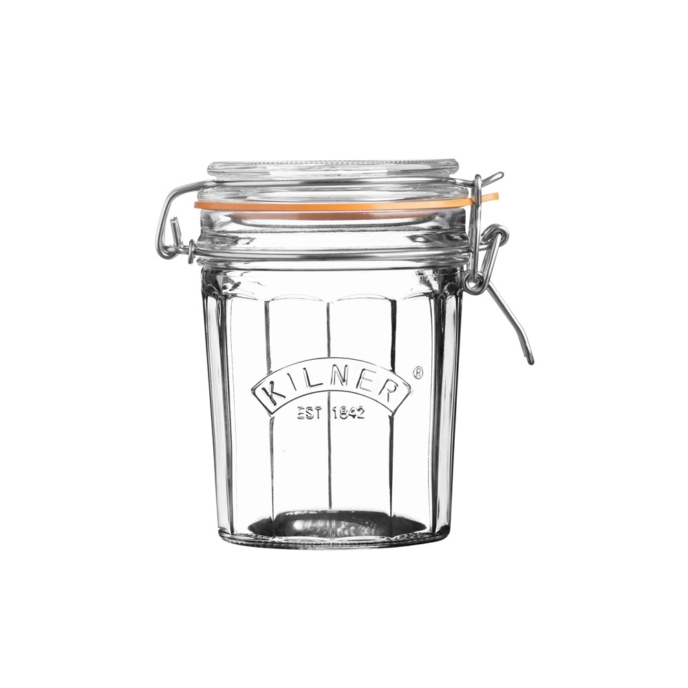 Kilner Facetted Clip Top Jar 450ml