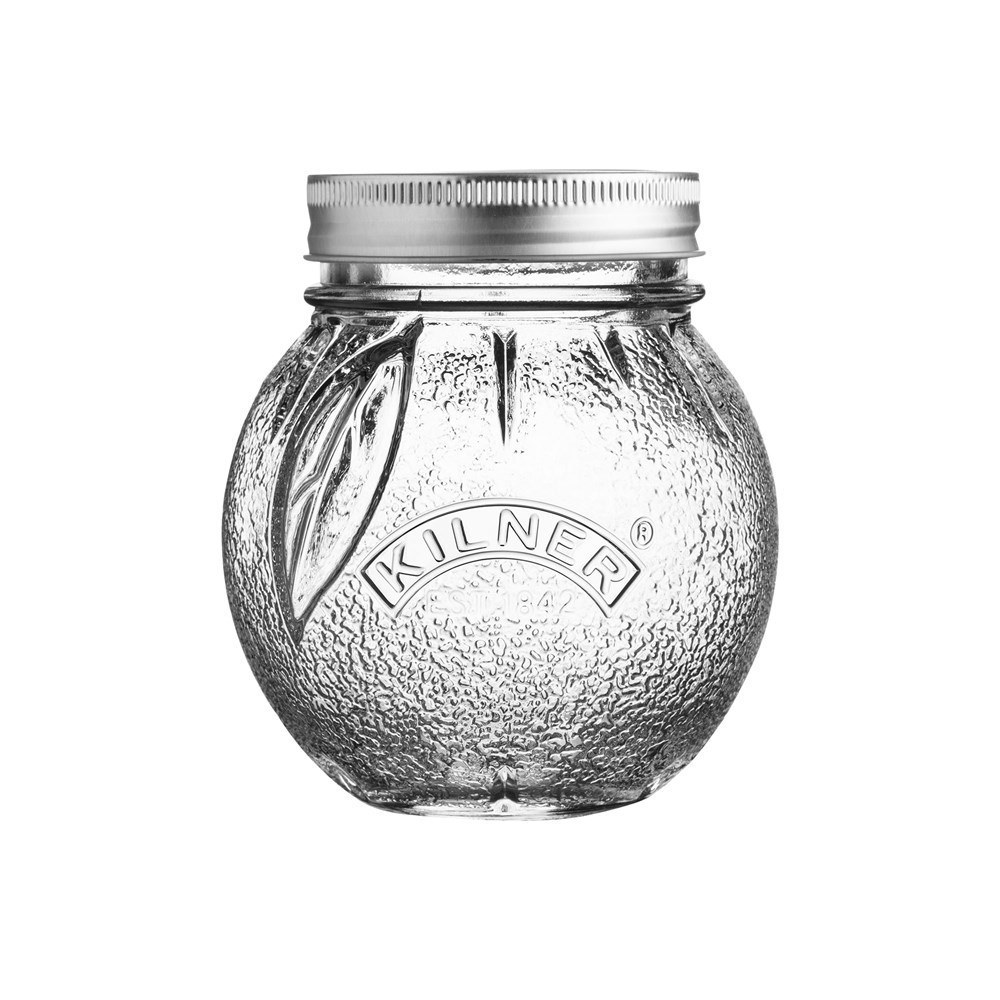 Kilner Orange Fruit Jar 400ml