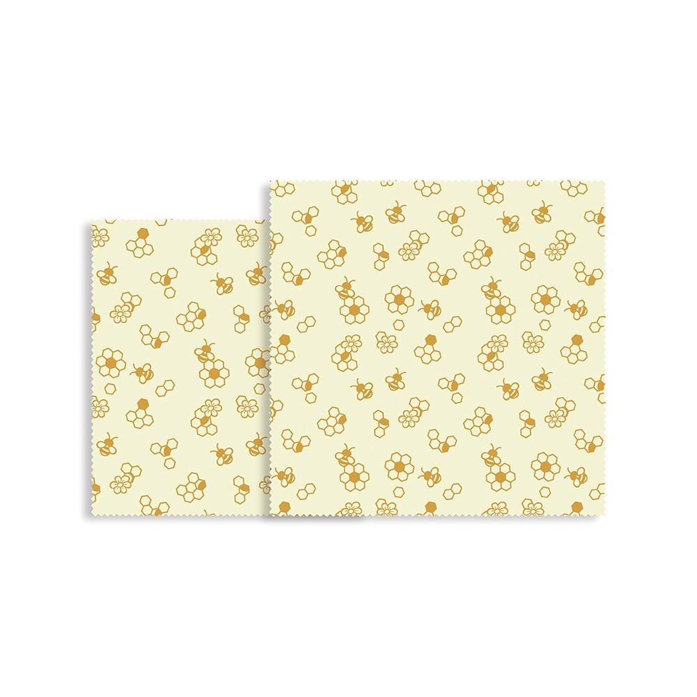 Karlstert Natural Beeswax Food Wrap 2 Piece Picnic Pack