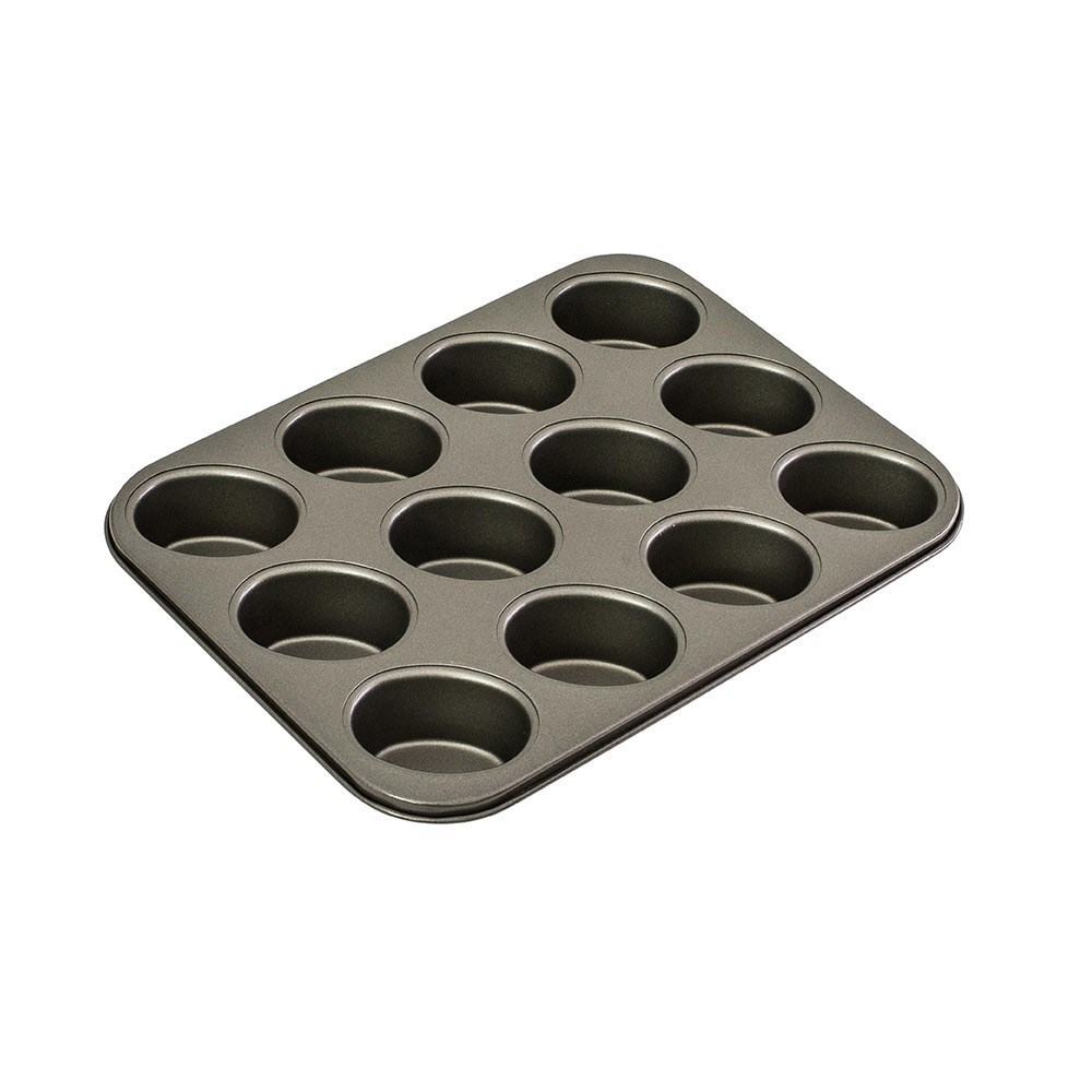 Bakemaster Classic 12 Cup Non-Stick Friand Pan 35.5cm