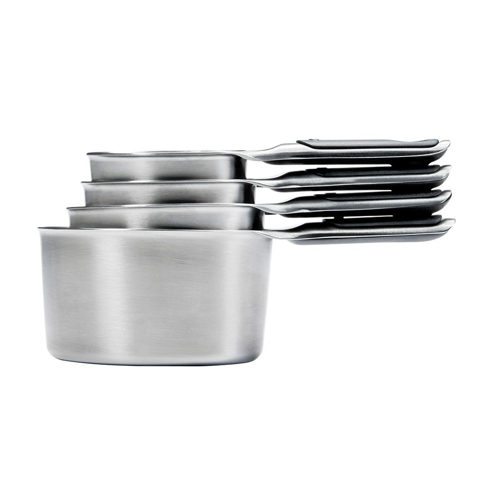 Oxo Good Grip 4 Piece Stainless Steel Measuring Cup Set