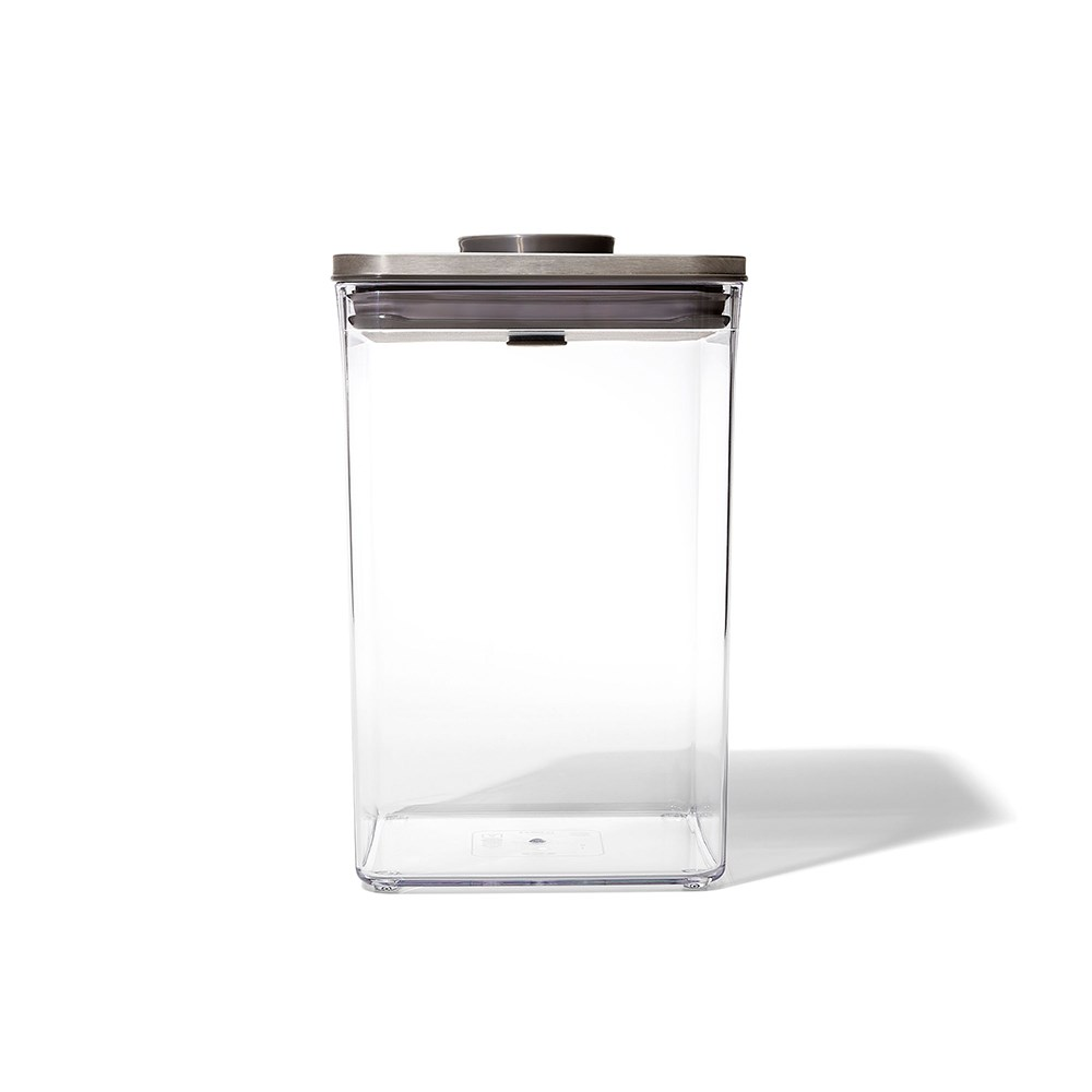 Oxo Pop 2.0 Steel Big Square Medium Container 4.2L