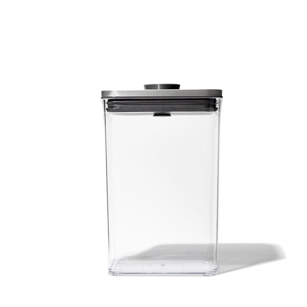 Oxo Pop 2.0 Steel Rectangle Medium Container 2.6L