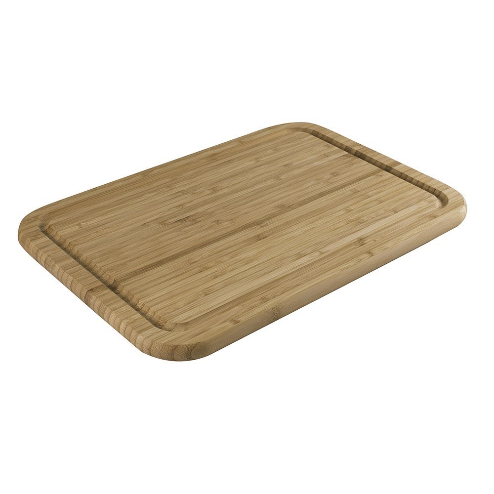 Peer Sorensen Reversible Bamboo Chopping Board with Groove 42 x 29cm