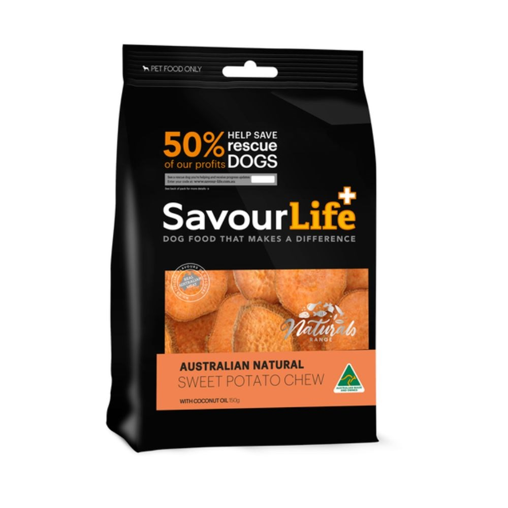 Savourlife Australian Natural Sweet Potato Chew With Coconut Oil 165g