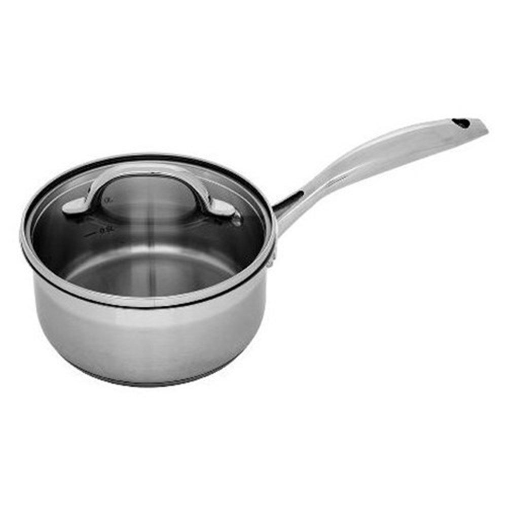 Swiss Diamond Premium Steel Stainless Steel Saucepan With Lid 18cm