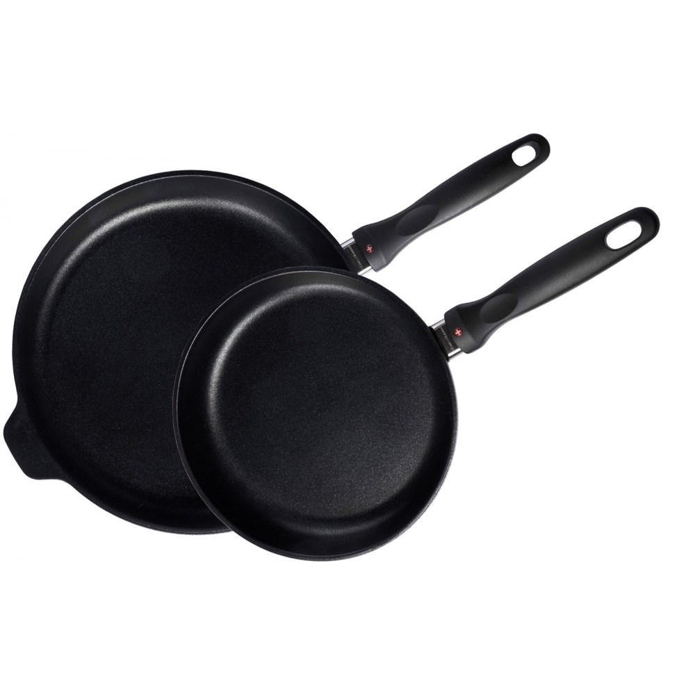 Swiss Diamond XD Classic Frypan 2 Piece Set 24 x 28cm