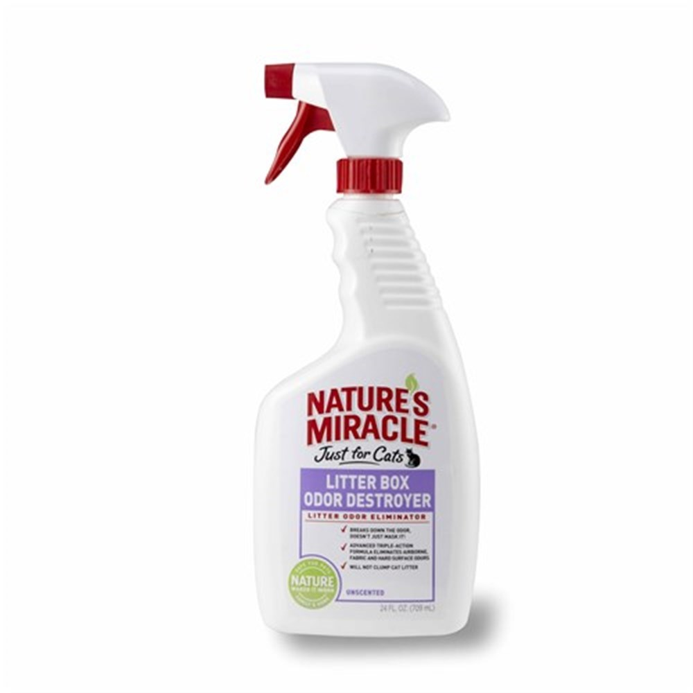 Natures Miracle Just for Cats Litter Box Odour Destroyer 709ml