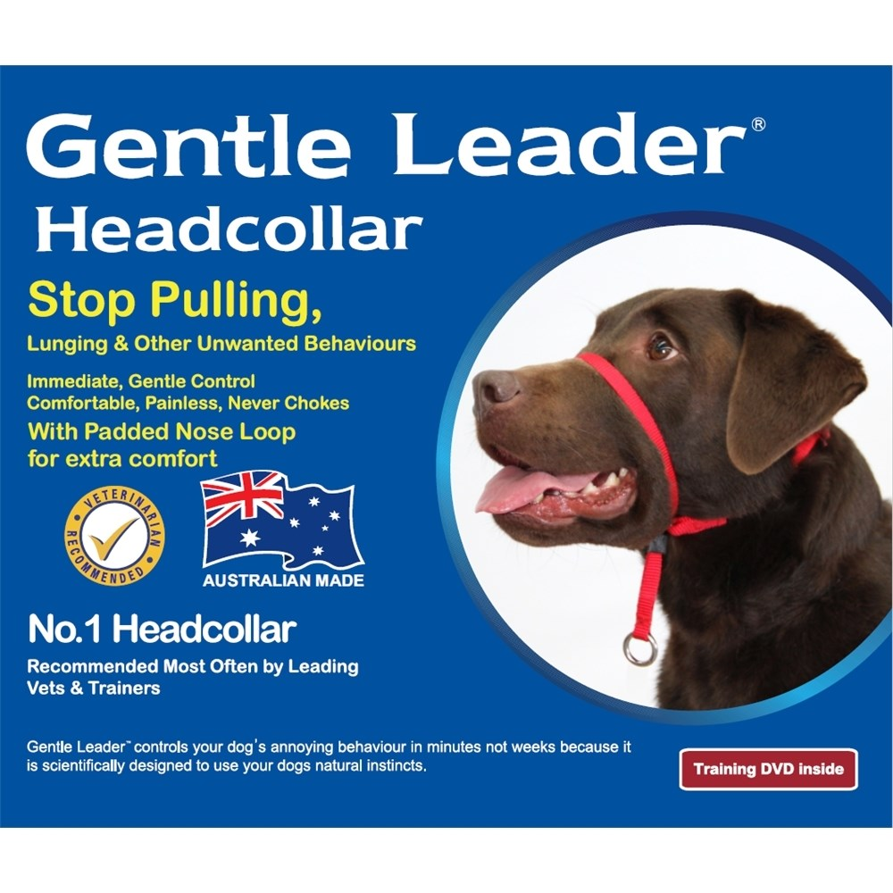 Beau Pets Gentle Leader Head Collar Extra Large Blue