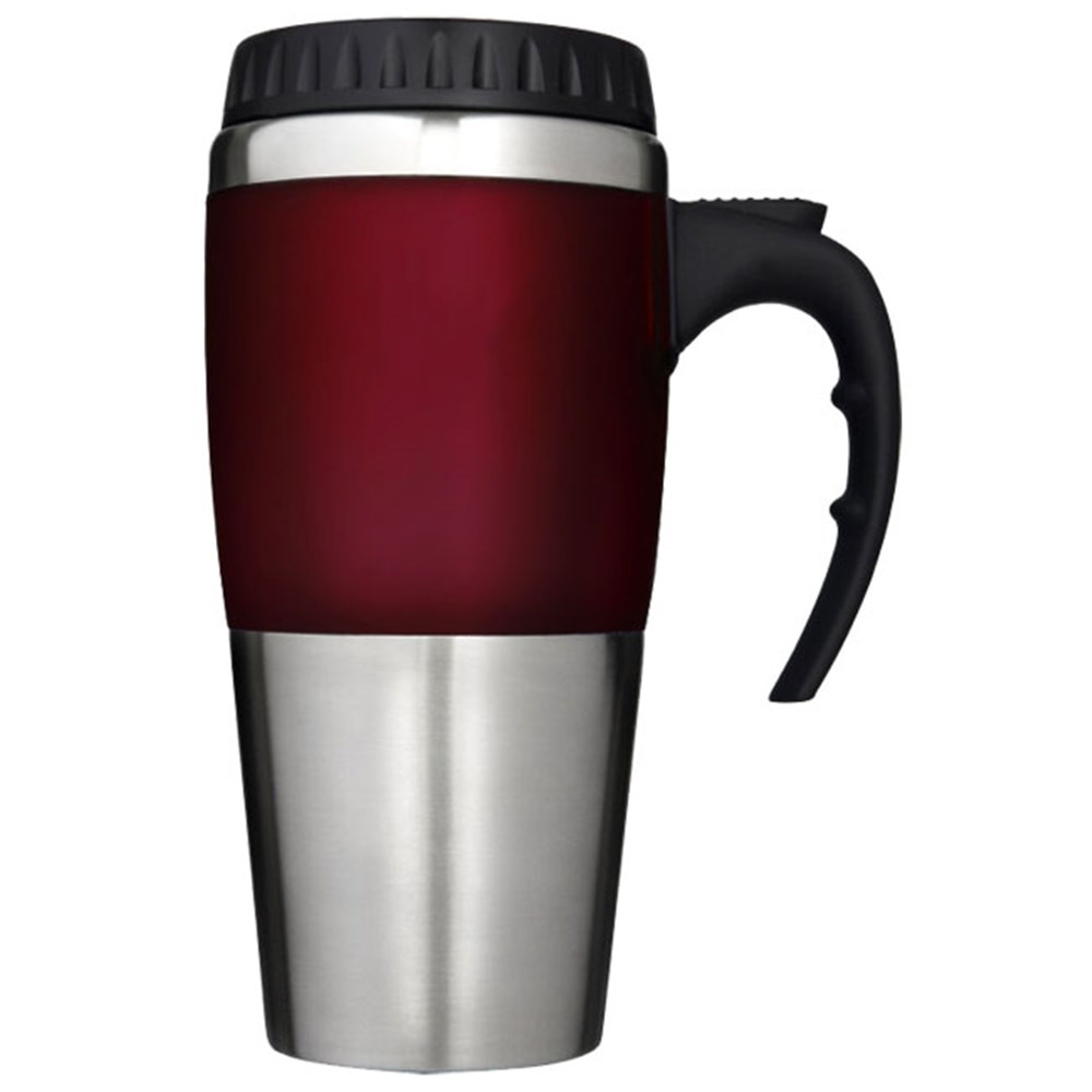 Thermos THERMOcafe Stainless Steel Travel Mug Red 450ml