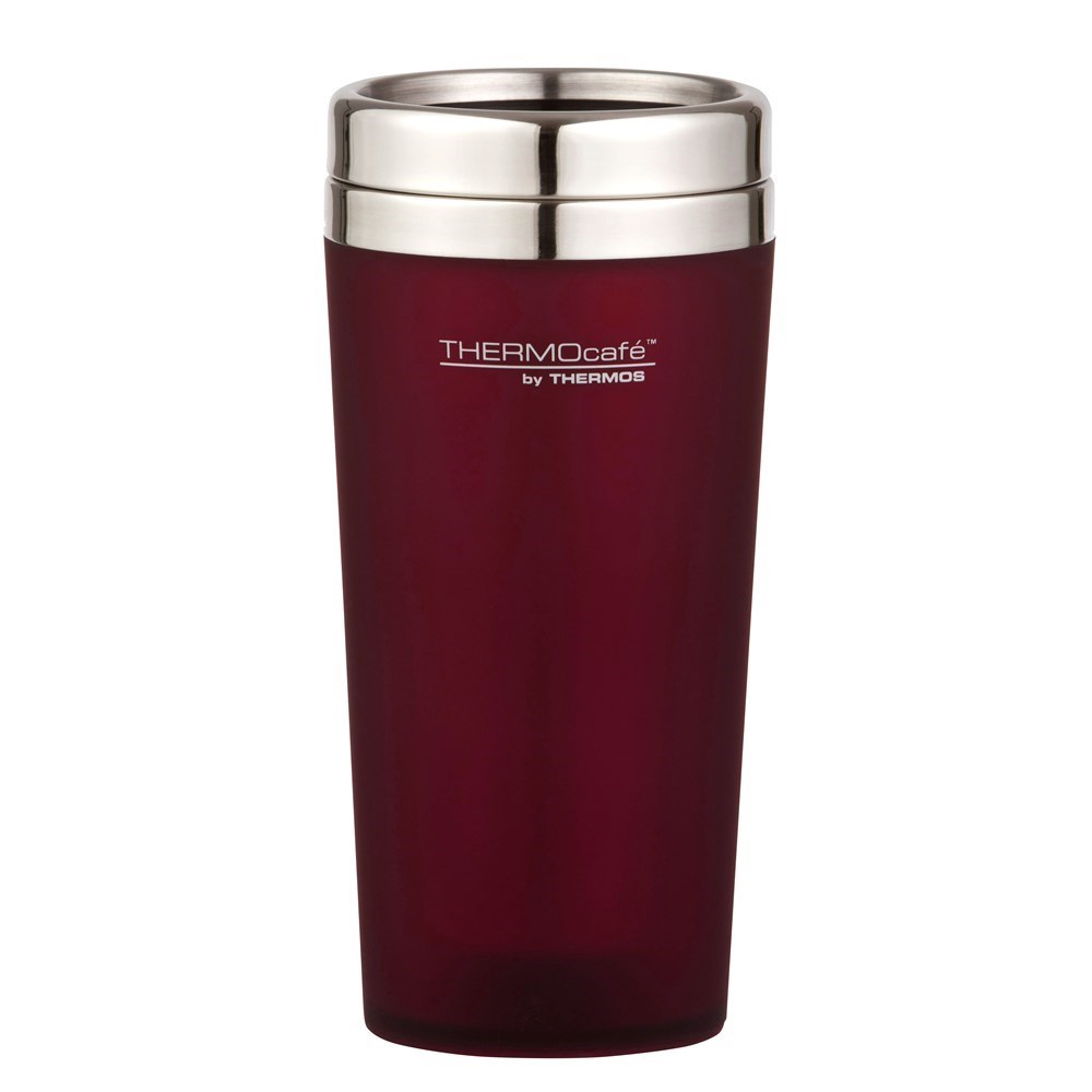 Thermos THERMOcafe Soft Touch Travel Tumbler Matte Red 420ml