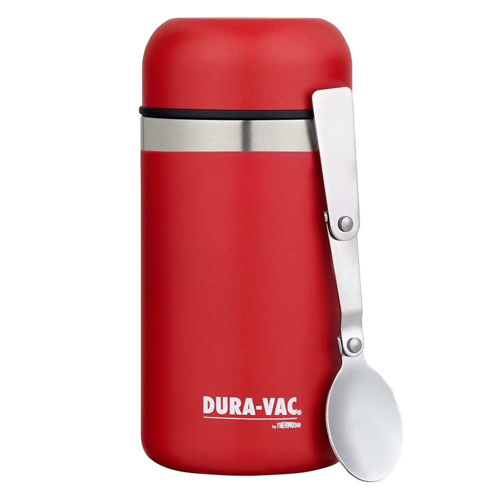 Thermos Dura-Vac 500ml Vacuum Insulated Food Jar - Red