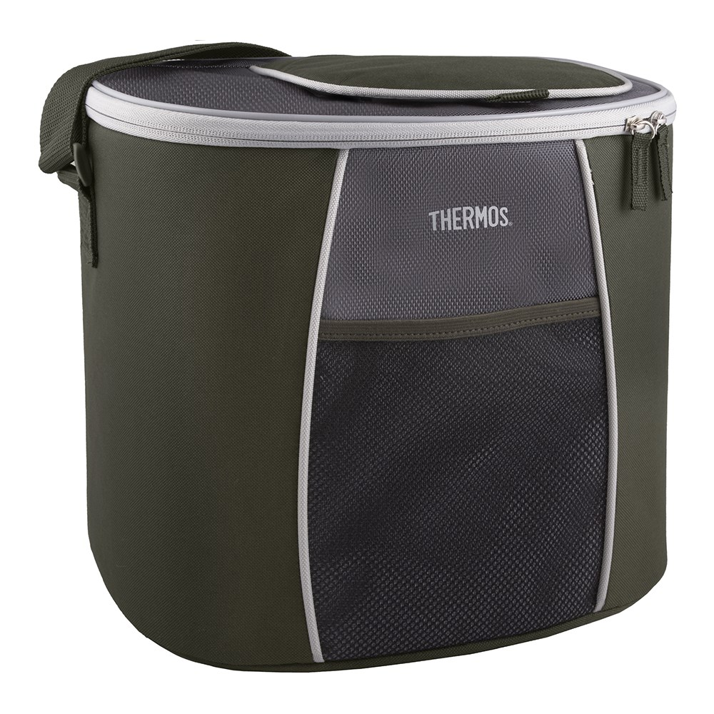 Thermos E5 24 Can Cooler with LDPE Liner Grey Green
