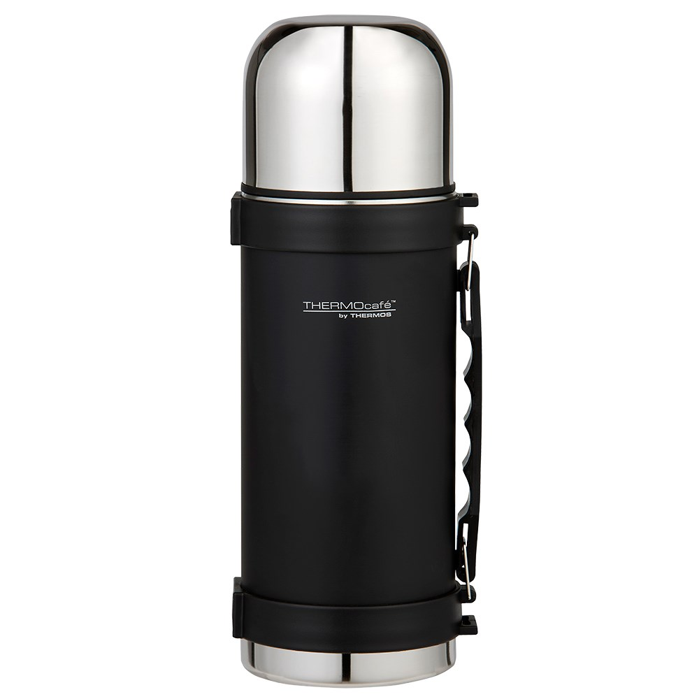 Thermos Thermo Caf 1L Vacuum Insulated Flask - Matte Black
