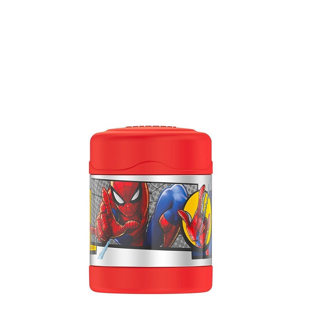 Thermos FUNtainer Stainless Steel Vacuum Insulated Food Jar 290ml Spider-Man