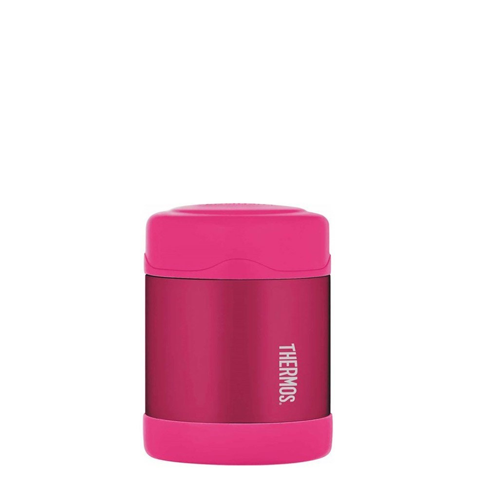Thermos 290ml FUNtainer Stainless Steel Vacuum Insulated Food Jar Pink