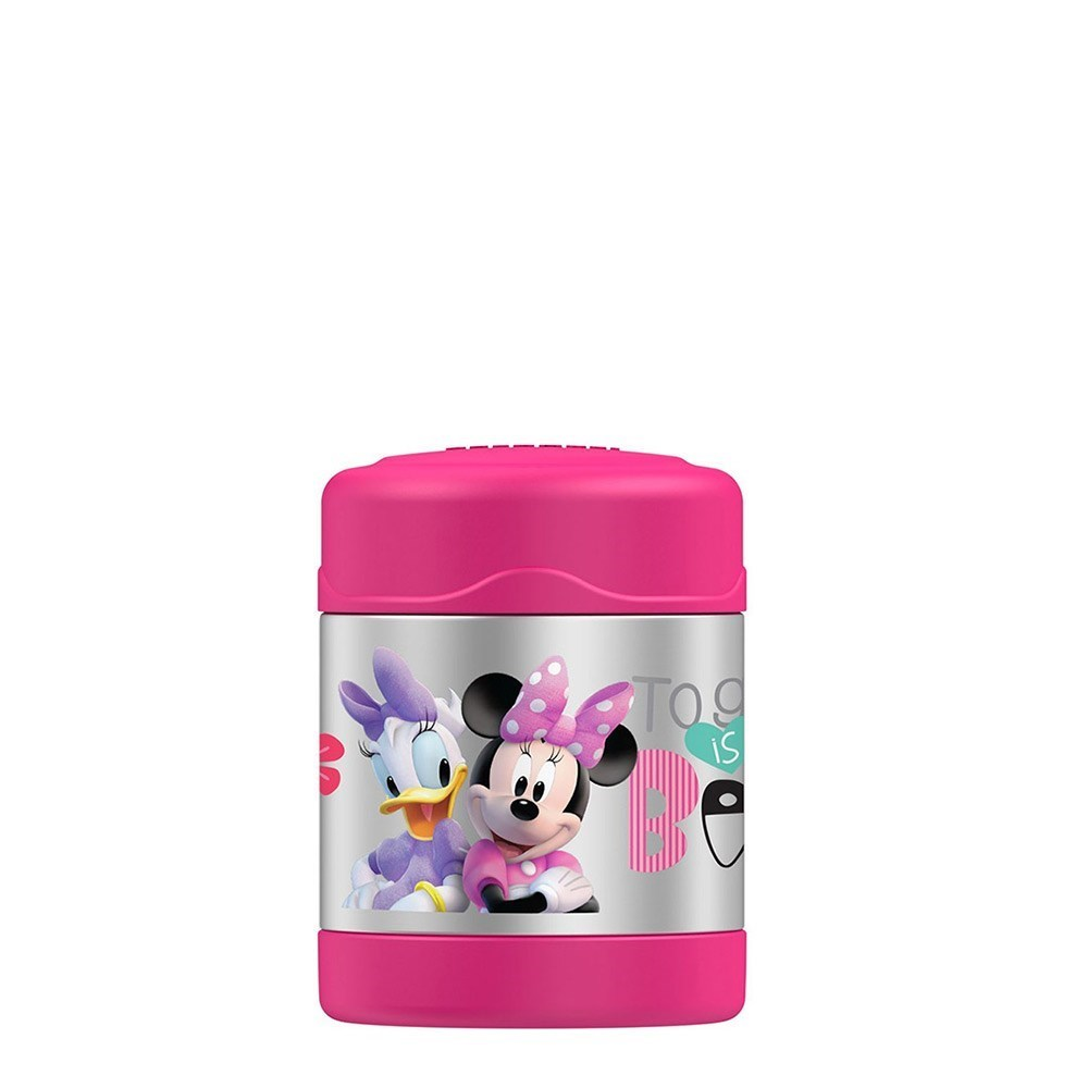 Thermos FUNtainer Stainless Steel Disney Minnie Mouse Food Jar 290ml