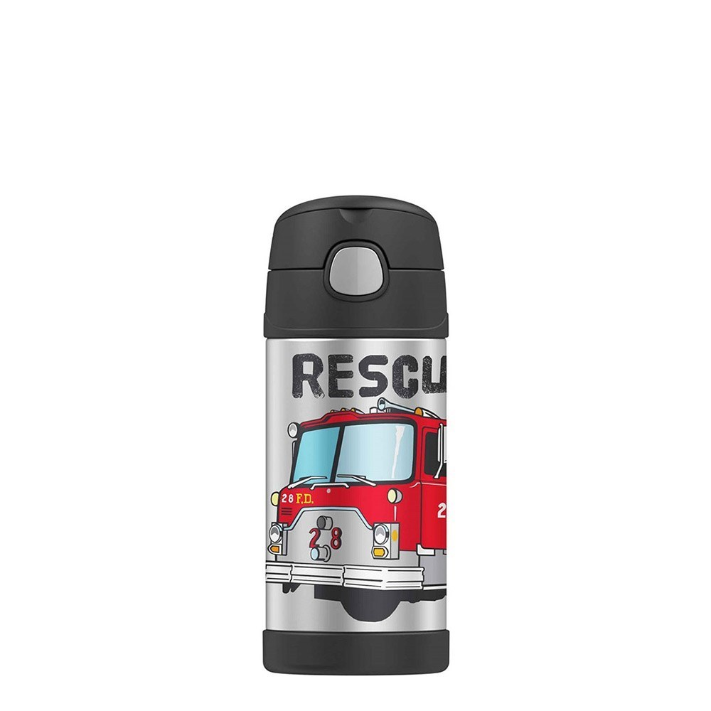 Thermos FUNtainer Bottle 355ml Firetruck