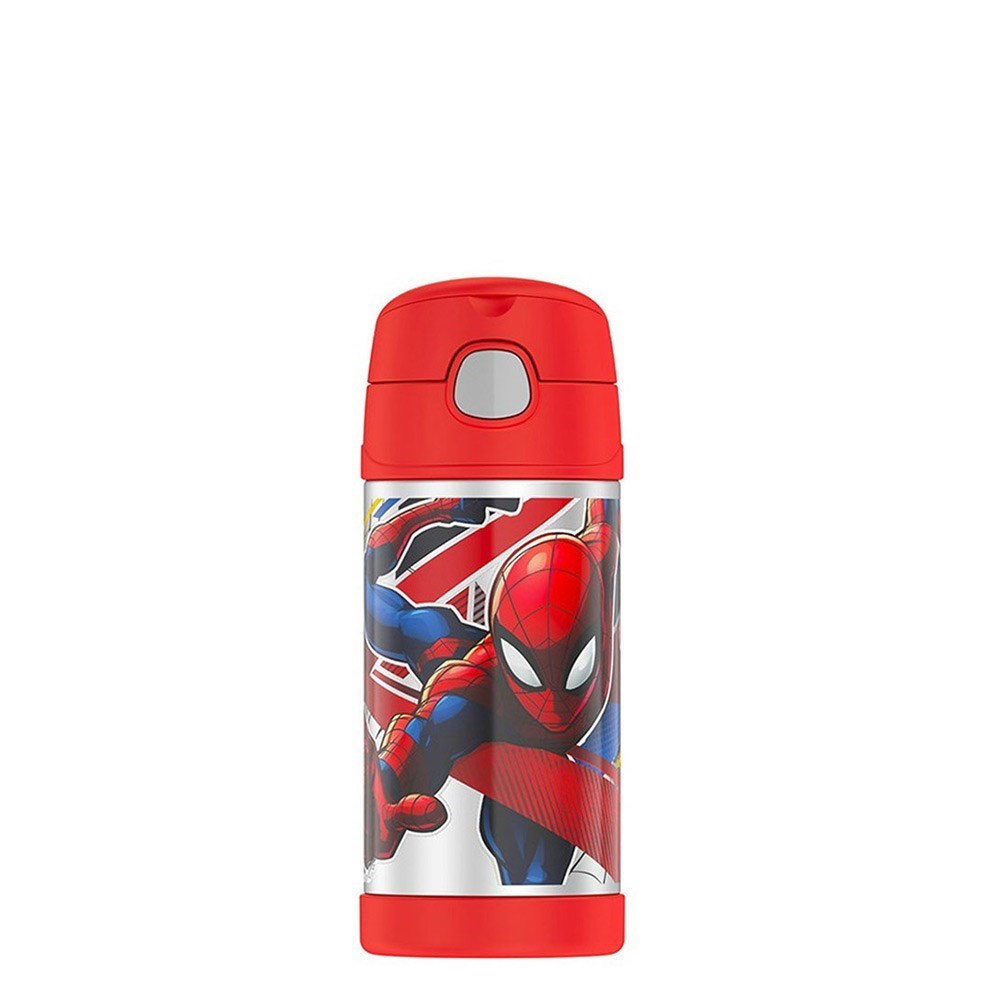 Thermos FUNtainer Stainless Steel Vacuum Insulated Drink Bottle 355ml Spider-Man