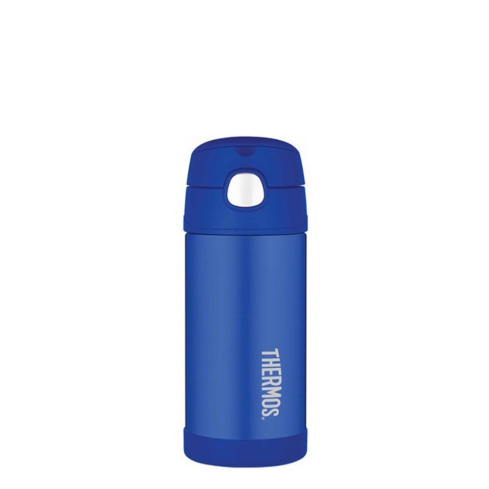 Thermos 355ml FUNtainer Stainless Steel Vacuum Insulated Drink Bottle Blue