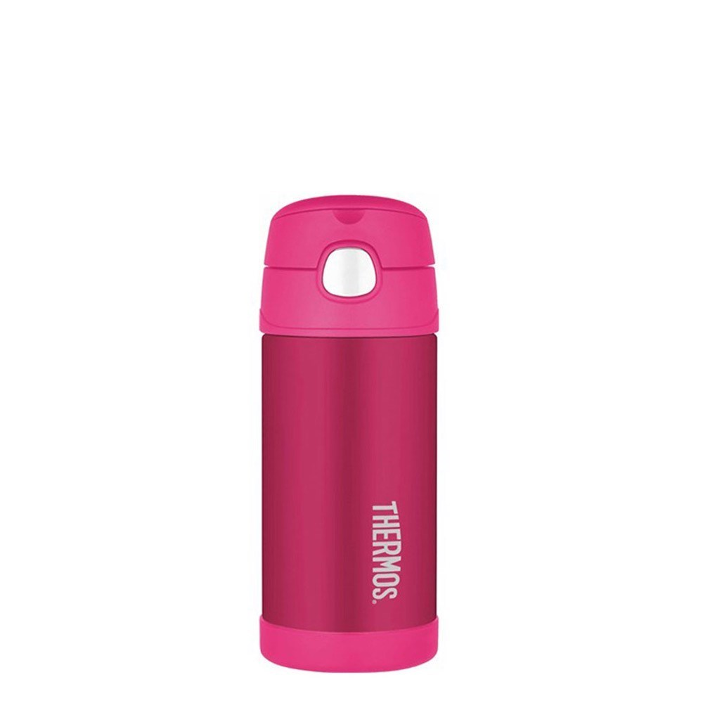 Thermos 355ml FUNtainer Stainless Steel Vacuum Insulated Drink Bottle Pink