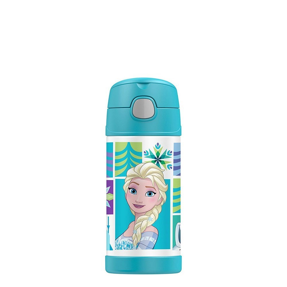 Thermos FUNtainer Stainless Steel Disney Frozen Drink Bottle 355ml