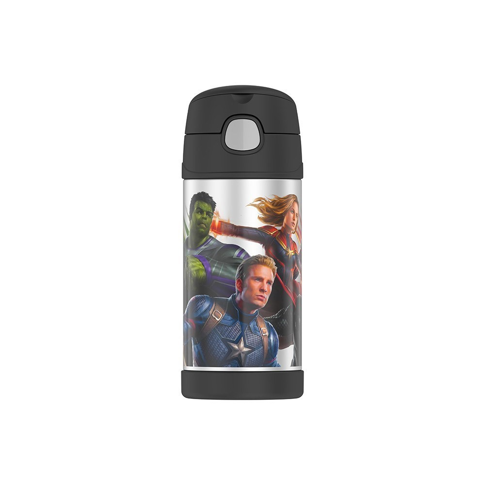 Thermos FUNtainer Stainless Steel Vacuum Insulated Drink Bottle 355ml Avengers