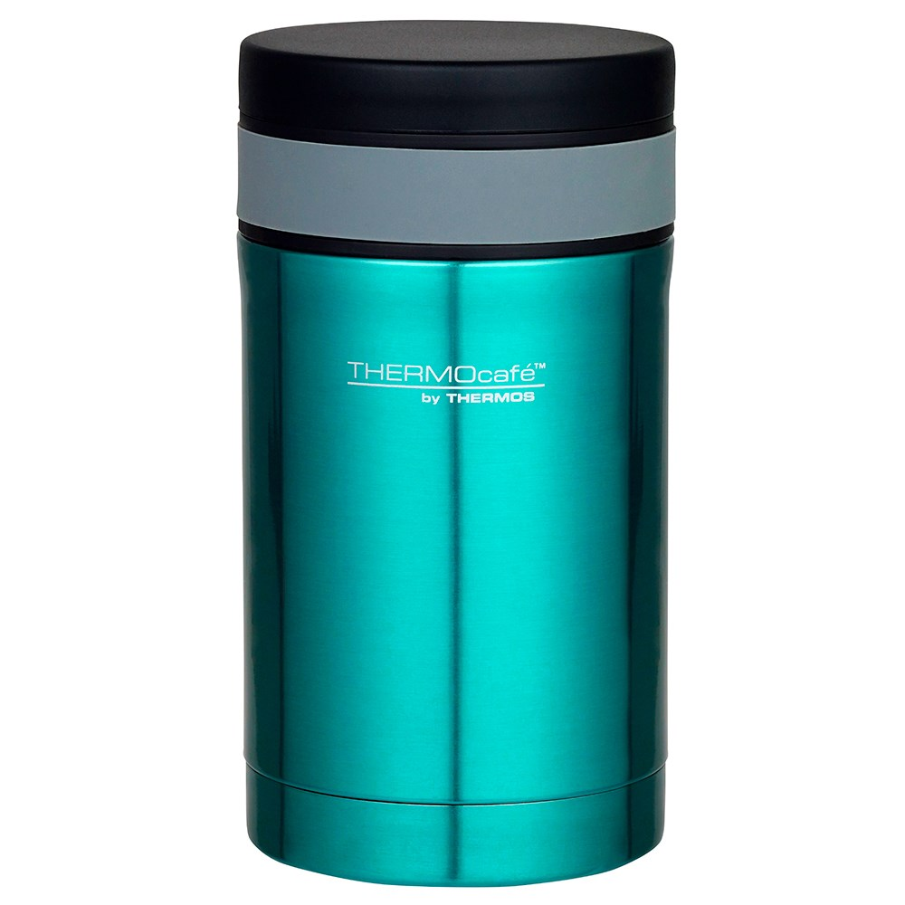 Thermos Thermo Caf 500ml Vacuum Insulated Food Jar with Spoon - Teal