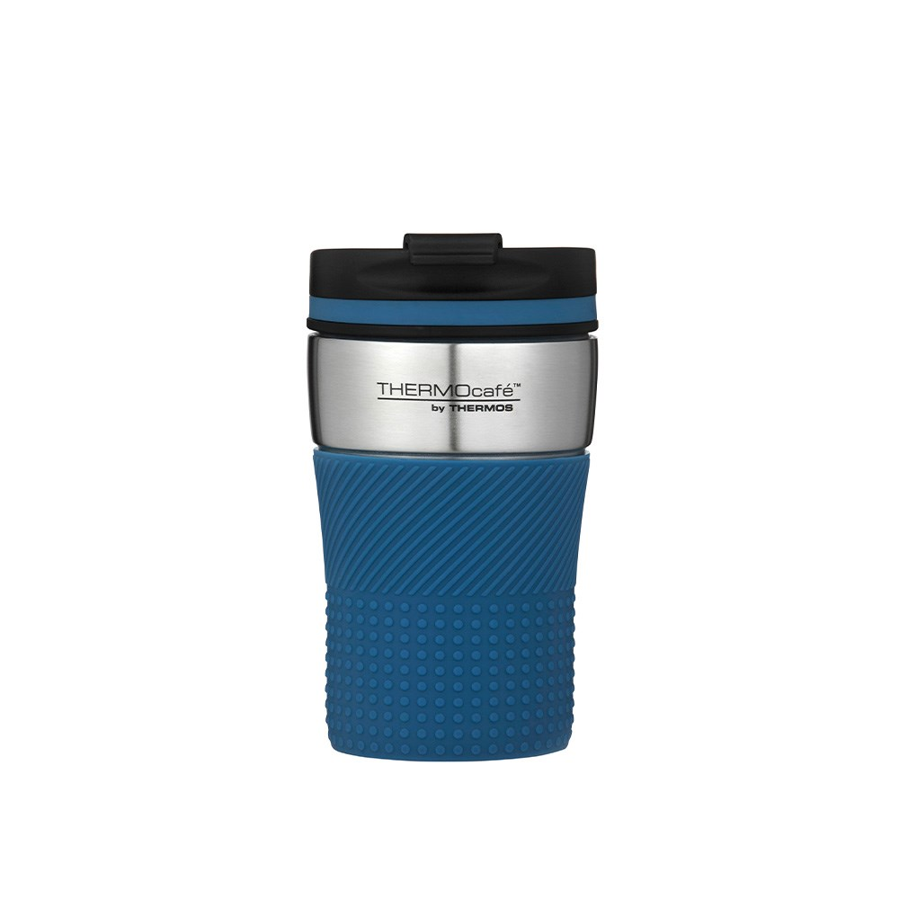 Thermos THERMOcafe Vacuum Insulated Travel Cup 200ml Blue