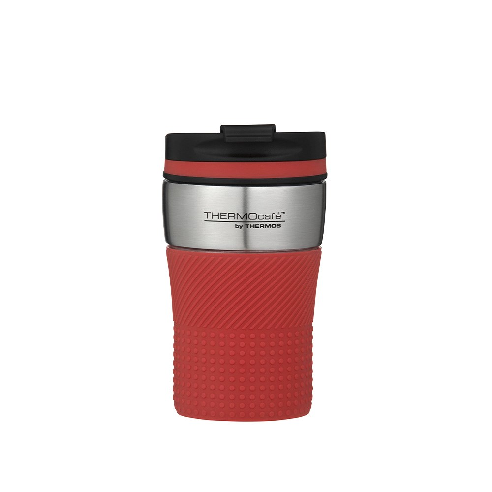 Thermos THERMOcafe Vacuum Insulated Travel Cup 200ml Red
