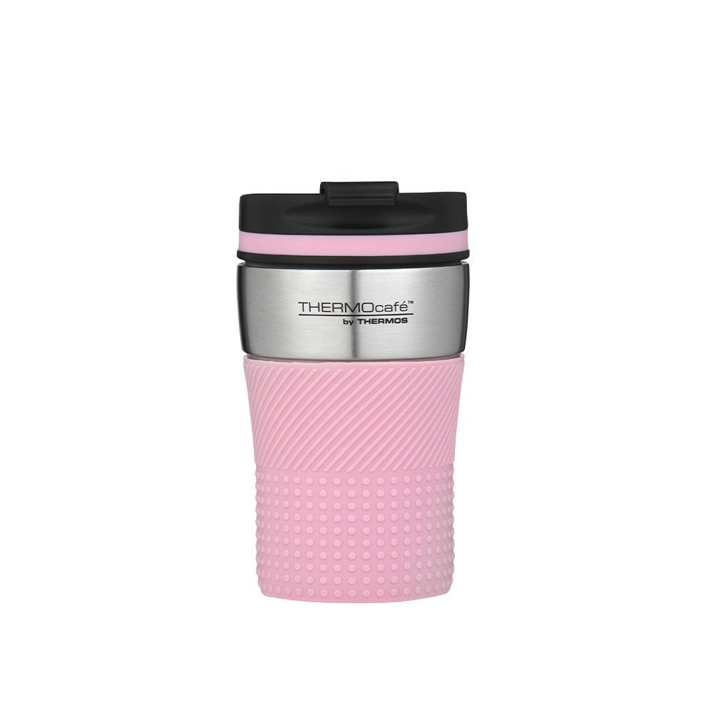 Thermos THERMOcafe Vacuum Insulated Travel Cup 200ml Pink