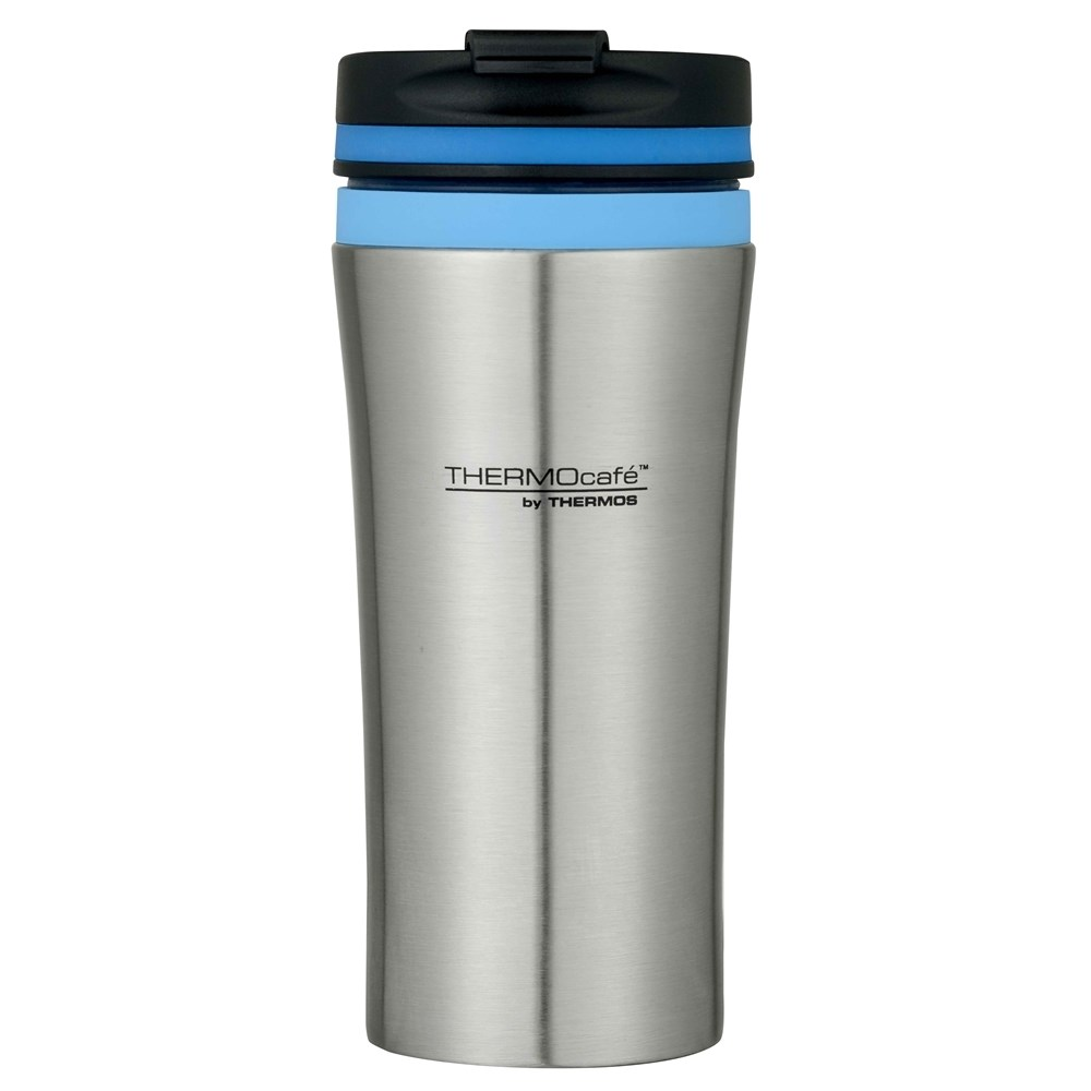 Thermos 380ml Stainless Steel Double Wall Vacuum Insulated Travel Tumbler Blue