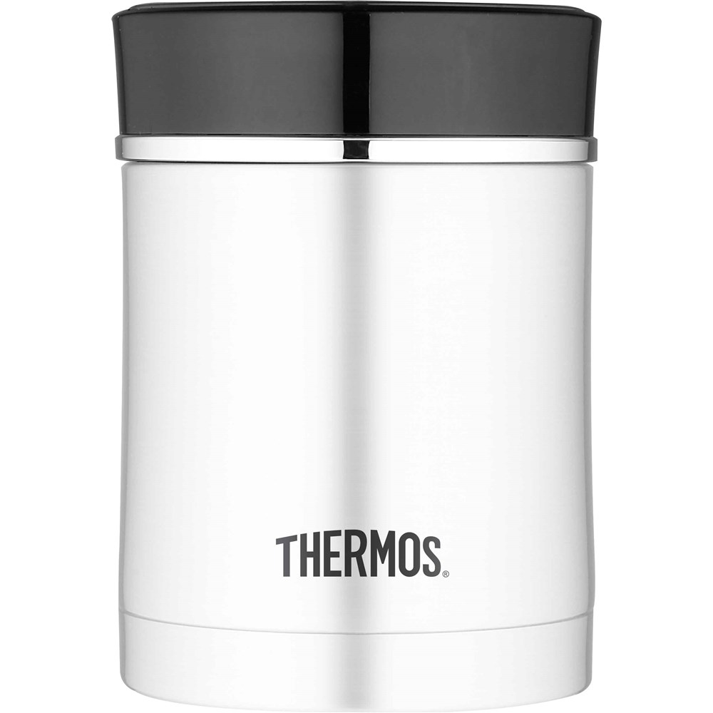 Thermos 470ml Sipp Stainless Steel Vacuum Insulated Food Jar Black
