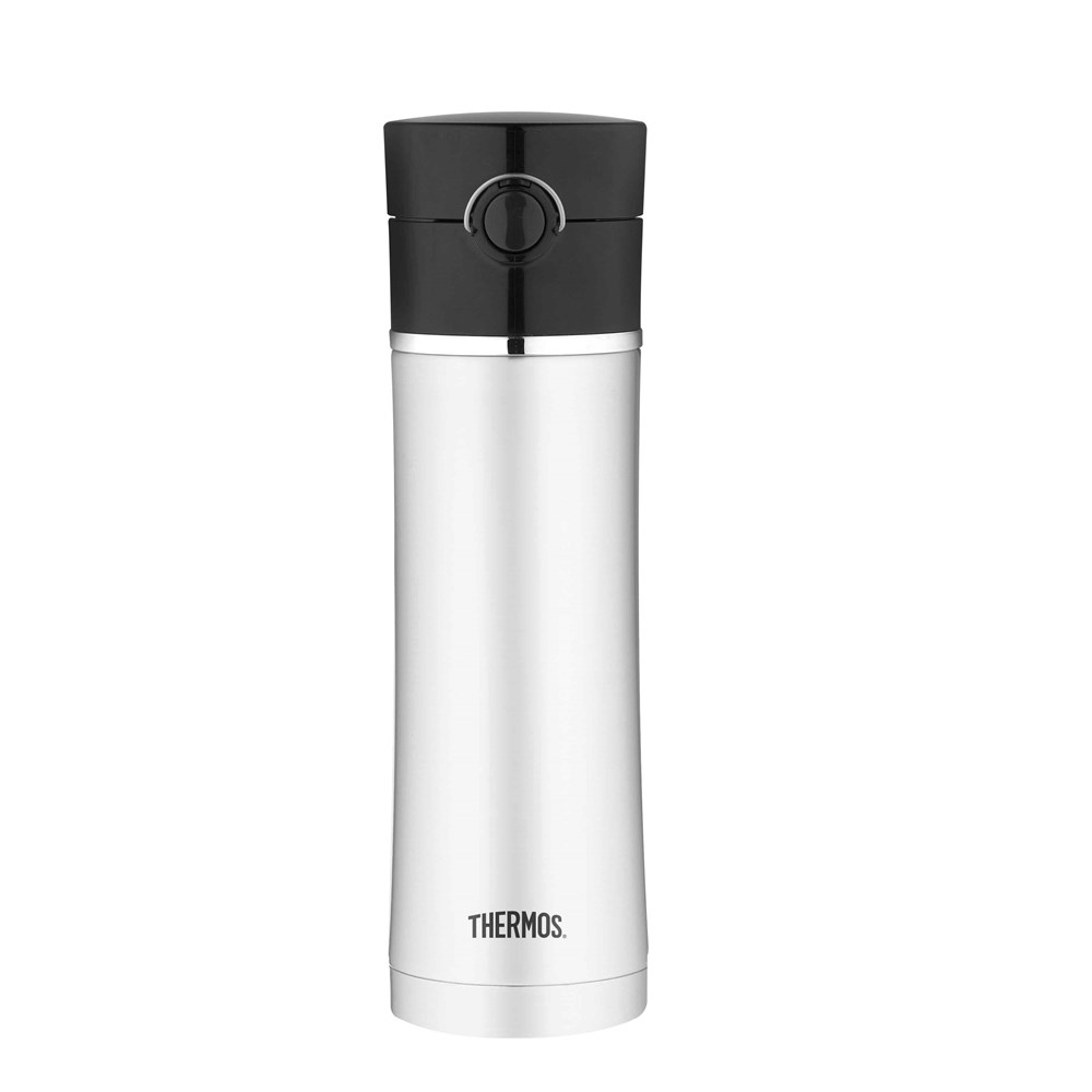 Thermos 470ml Sipp Stainless Steel Vacuum Insulated Bottle with Tea Infuser