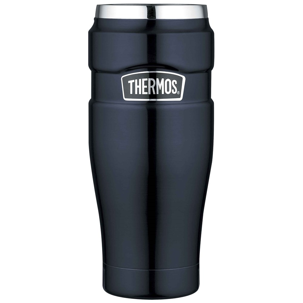 Thermos Stainless King Tumbler 470ml Vacuum Insulated Midnight Blue