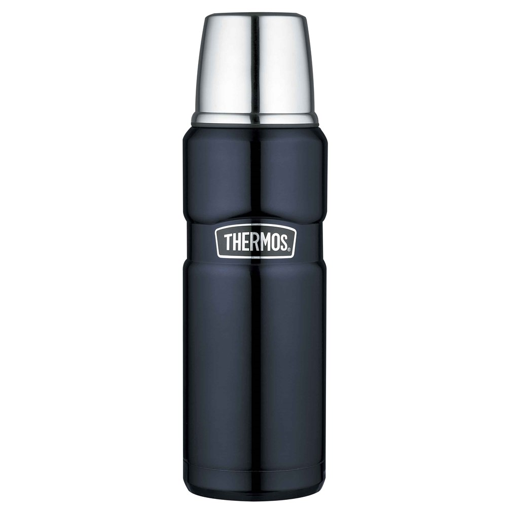 Thermos 470ml Stainless Steel Vacuum Insulated Flask Midnight Blue