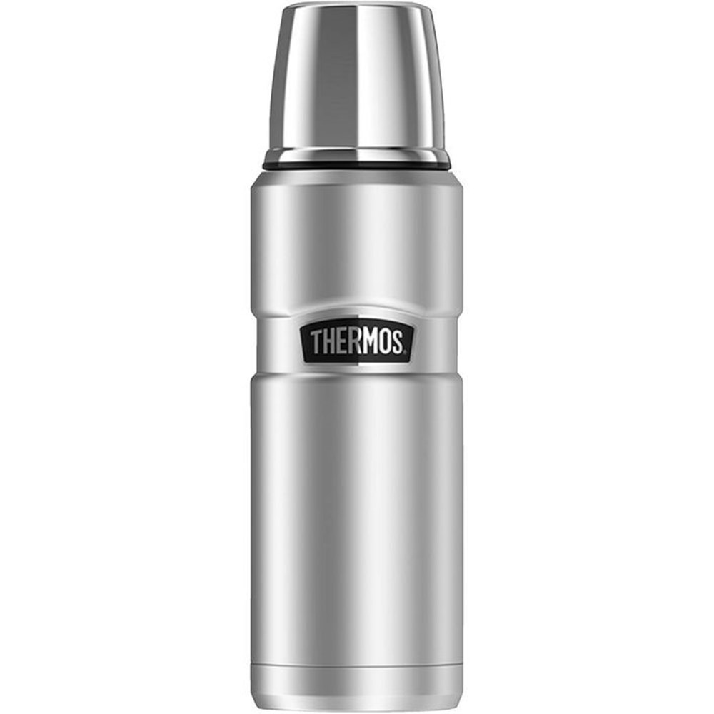 Thermos Stainless King 470ml Beverage Flask Stainless Steel