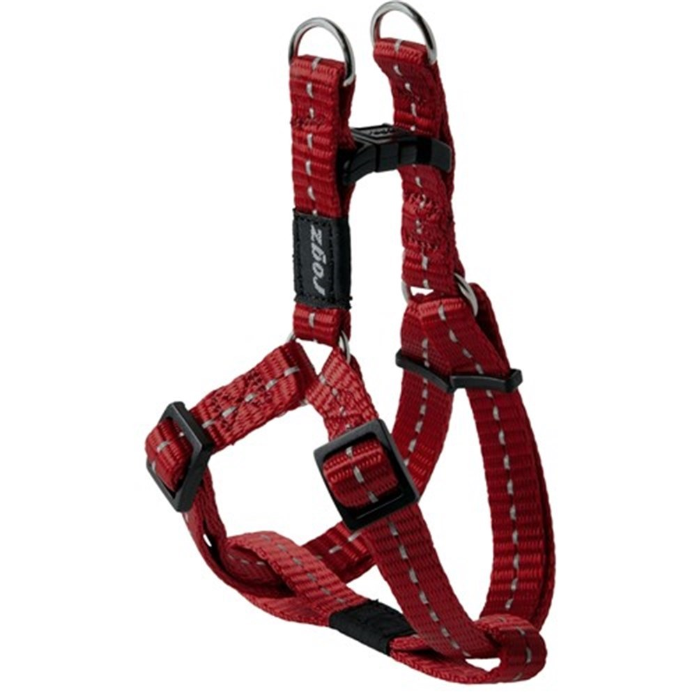 Rogz Utility Nitelife Step-In Dog Harness Red Small
