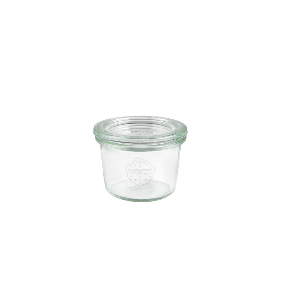 Weck Glass Jar with Lid 80ml 60x55mm - MIN ORDER QTY OF 6